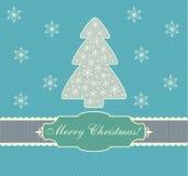 Κάρτα Χριστουγέννων, σχέδιο, διάνυσμα, απεικόνιση Στοκ φωτογραφία με δικαίωμα ελεύθερης χρήσης
