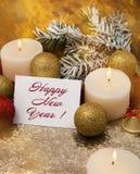 Κάρτα Χριστουγέννων υπογεγραμμένη, παιχνίδια Χριστουγέννων Στοκ φωτογραφίες με δικαίωμα ελεύθερης χρήσης