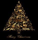 Κάρτα Χριστουγέννων Στοκ εικόνα με δικαίωμα ελεύθερης χρήσης