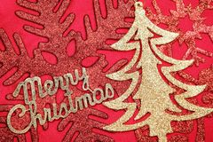 Κάρτα Χριστουγέννων στοκ φωτογραφίες με δικαίωμα ελεύθερης χρήσης