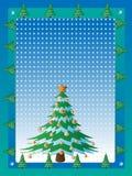 Κάρτα Χριστουγέννων. Στοκ Εικόνα