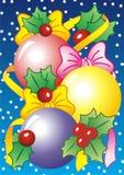 Κάρτα Χριστουγέννων στοκ φωτογραφία με δικαίωμα ελεύθερης χρήσης
