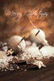 Κάρτα Χριστουγέννων Στοκ Εικόνα