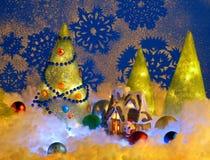 Κάρτα Χριστουγέννων Στοκ Φωτογραφία