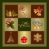 Κάρτα Χριστουγέννων Στοκ εικόνες με δικαίωμα ελεύθερης χρήσης