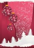 κάρτα Χριστουγέννων 5 Στοκ εικόνες με δικαίωμα ελεύθερης χρήσης