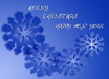 Κάρτα Χριστουγέννων 9 Στοκ Εικόνα