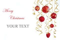 Κάρτα Χριστουγέννων 1b Στοκ Εικόνες