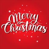 Κάρτα Χριστουγέννων Mery Κόκκινα Χριστούγεννα υποβάθρου διακοπών Στοκ Φωτογραφίες