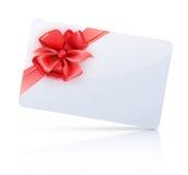 Κάρτα δώρων Στοκ εικόνες με δικαίωμα ελεύθερης χρήσης