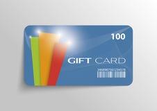 Κάρτα δώρων Στοκ Εικόνα