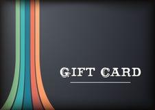 Κάρτα δώρων Blac Στοκ Φωτογραφίες