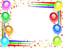 κάρτα 06 γενεθλίων ευτυχής απεικόνιση αποθεμάτων