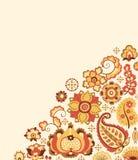 κάρτα floral απεικόνιση αποθεμάτων