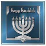 Κάρτα Hanukkah Στοκ εικόνες με δικαίωμα ελεύθερης χρήσης