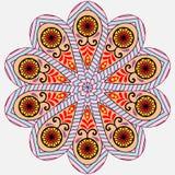 Κάρτα Mandala πρόσκλησης Ελεύθερη απεικόνιση δικαιώματος