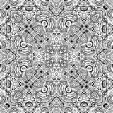 Κάρτα Mandala Στοκ φωτογραφία με δικαίωμα ελεύθερης χρήσης