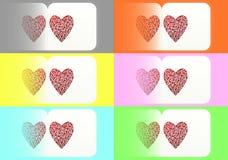 κάρτα s καρδιών απεικόνιση αποθεμάτων