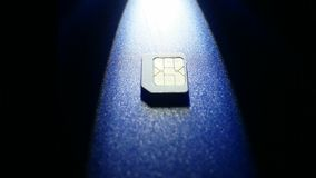 Κάρτα Sim του τηλεφώνου φιλμ μικρού μήκους