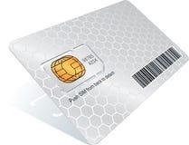 κάρτα sim Στοκ Φωτογραφία