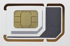 Κάρτα 01 SIM Στοκ φωτογραφία με δικαίωμα ελεύθερης χρήσης