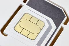 Κάρτα 02 SIM Στοκ φωτογραφία με δικαίωμα ελεύθερης χρήσης