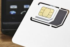 Κάρτα 03 SIM Στοκ εικόνες με δικαίωμα ελεύθερης χρήσης