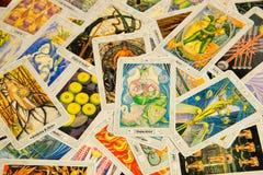 Κάρτα Tarot η αυτοκράτειρα ανασκόπηση εσωτερική Στοκ εικόνα με δικαίωμα ελεύθερης χρήσης