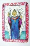 Κάρτα Tarot Στοκ φωτογραφία με δικαίωμα ελεύθερης χρήσης