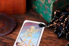 κάρτα tarot στοκ φωτογραφία