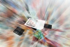 κάρτες έξυπνες Στοκ Εικόνες
