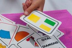 Κάρτες αντικειμένου διαθέσιμες Στοκ φωτογραφία με δικαίωμα ελεύθερης χρήσης
