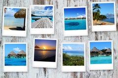 Κάρτες από Polynesya Στοκ Εικόνες