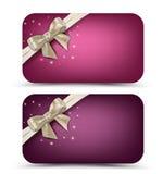 Κάρτες δώρων Στοκ Εικόνες