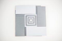 Κάρτες εγγράφων σημειώσεων Στοκ Εικόνα