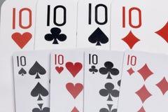 κάρτες Εξαρτήματα για το παιχνίδι Στοκ φωτογραφία με δικαίωμα ελεύθερης χρήσης