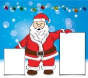 Κάρτες επίδειξης εκμετάλλευσης Santa απεικόνιση αποθεμάτων