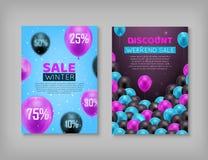 Κάρτες ζευγαριού, μαύρη πώληση Παρασκευής απεικόνιση αποθεμάτων