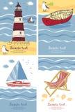 Κάρτες διακοπών Στοκ Εικόνες