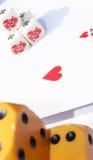 κάρτες κόκκαλων Στοκ φωτογραφία με δικαίωμα ελεύθερης χρήσης