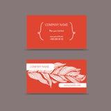 Κάρτες με τα λουλούδια Στοκ φωτογραφία με δικαίωμα ελεύθερης χρήσης