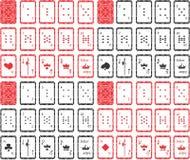 Κάρτες παιχνιδιού, μοναδικές Για όλα τα παιχνίδια ελεύθερη απεικόνιση δικαιώματος