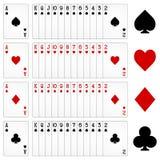 Κάρτες παιχνιδιού Στοκ Εικόνες