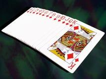 κάρτες που παίζουν το σύν&om Στοκ Εικόνες