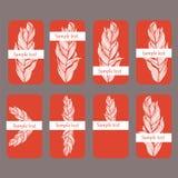 κάρτες που τίθενται διαν& Στοκ εικόνες με δικαίωμα ελεύθερης χρήσης
