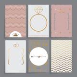 κάρτες που τίθενται διαν& Στοκ Εικόνες