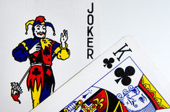 Κάρτες προσώπου Στοκ Εικόνα