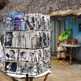 Κάρτες στην Κούβα Στοκ Φωτογραφία