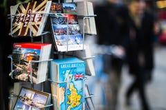Κάρτες της Αγγλίας Στοκ εικόνες με δικαίωμα ελεύθερης χρήσης