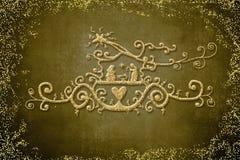 Κάρτες χαιρετισμών σκηνής Nativity Στοκ Φωτογραφίες